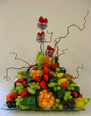 Corbeille de fruits V.I.P pour 50 personnes