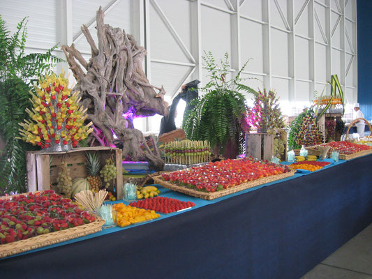 Buffet de fruits Airbus
