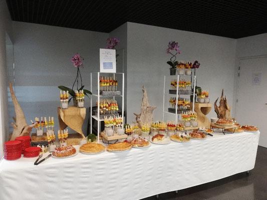 Buffet de fruits et galettes des rois Stelia Aérospace Toulouse