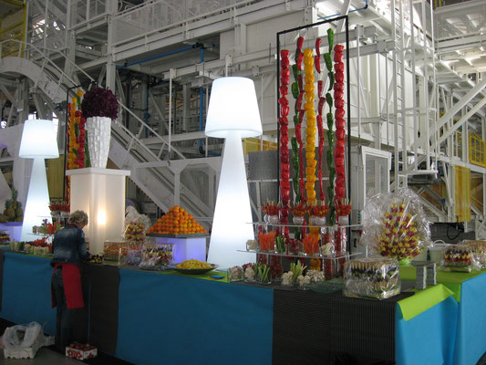 Buffet de crudités et fruits pour Airbus Toulouse