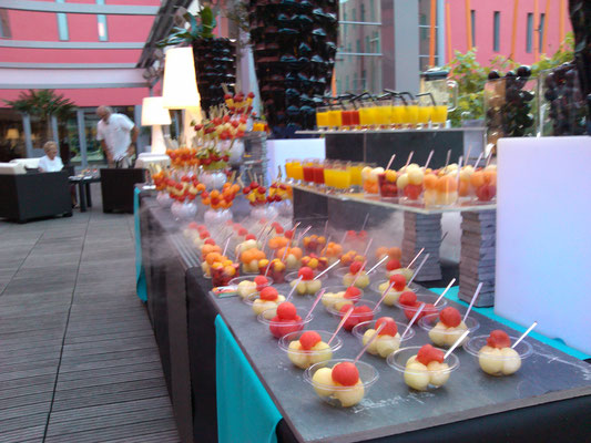 Buffet de fruits hotel Radisson Toulouse