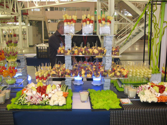 Buffet de fruits pour Airbus Colomiers