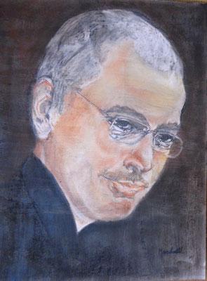 """M. Chodorkowski"", Graphit-Pastell a. Papier,  40 x 30, Kat.-Nr. 15489"