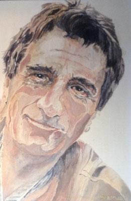 """Gabriel"", Öl a. Leinw., 30 x  40,Kat.-Nr. 000059"