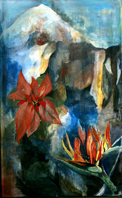 """Teide Impressionen"", Öl auf Leinwand, 50 x 80, Kat.-Nr. 04222"