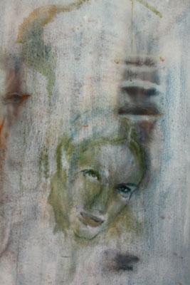 """""""Sehnsucht"""", Öl auf Leinwand, 100 x 70, Kat.-Nr. 00053"""