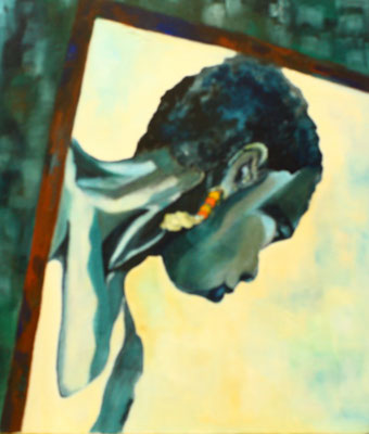 """Indonesierin"", Öl a. Leinw., 50 x 60, Kat.-Nr. 00079"