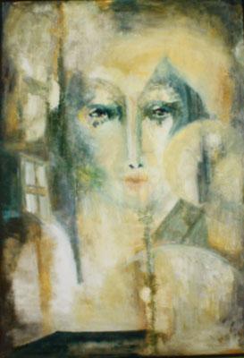"""""""Sybille"""", Öl a. Leinw., 70 x 100, Kat.-Nr. 00105"""