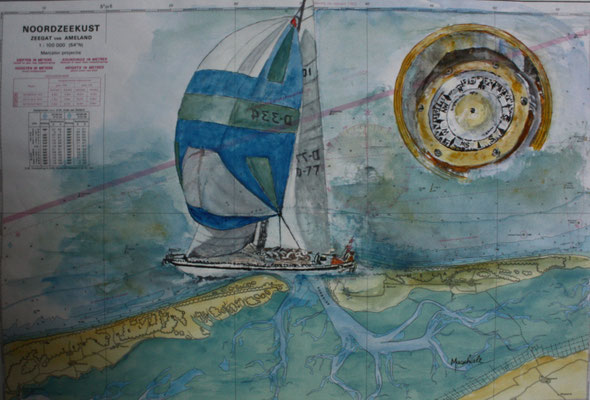 """Spi-Segler m. Kompass"", SANY0483, Kat.-Nr.   12377"