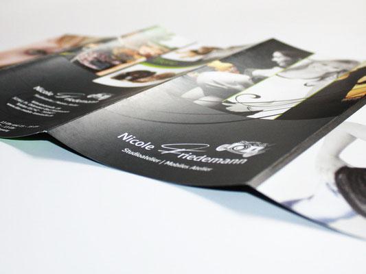 Flyer DIN lang 8-seitig + Visitenkarten + Preisliste