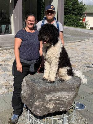 Oskar mit Adele und Sacha