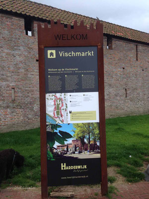 Hafenspaziergang in Harderwijk ..........