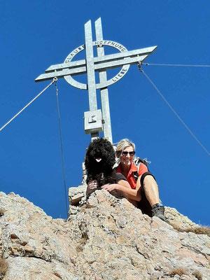 Gipfel Rofanspitze 2.259m