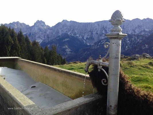 Frisches Bergquellwasser tut gut