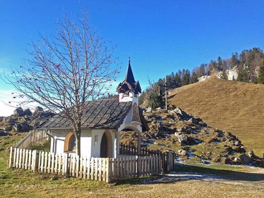 Kapelle auf der Ritzauer Alm