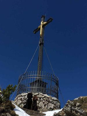 Seit mehr als 130 Jahren das Hochfelln Kreuz
