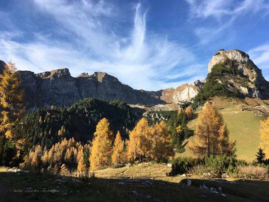 Stimmungsvoller Herbst im Rofan