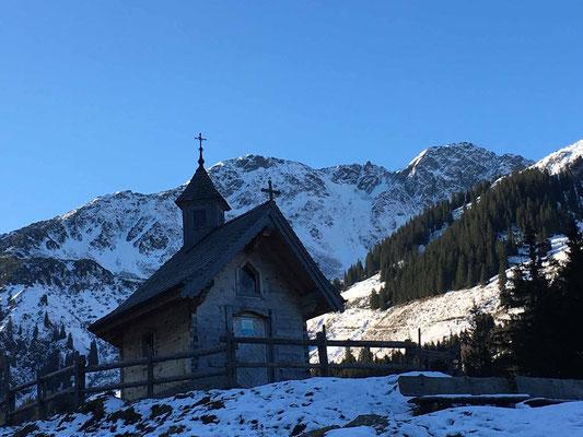 Kapelle an der Schönangeralm