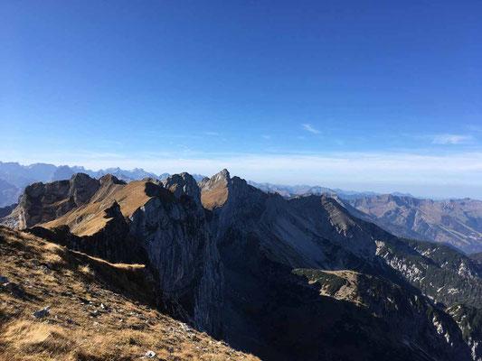 Und noch mehr Gipfel..........