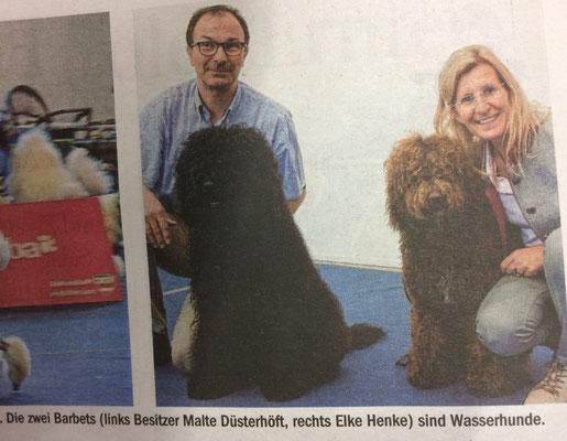 Sogar die Tiroler Sonntagszeitung hat über Glori und Jacko berichtet