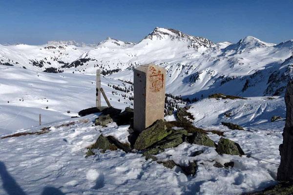Der Schellenberg, Grenzberg zu Tirol und Salzburg