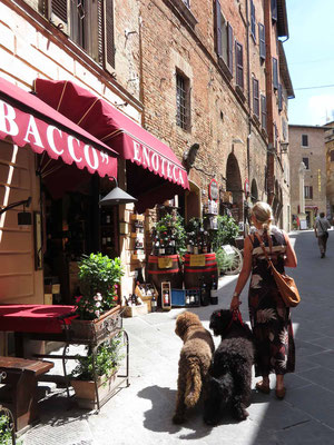 In den Gassen von Montepulciano