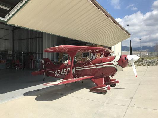 私の所属する航空会社がPitts S2Bを購入する事になり購入機体のインスペクションをしてきました。