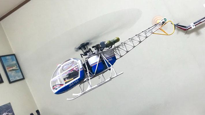 SA315B lama 飛行写真