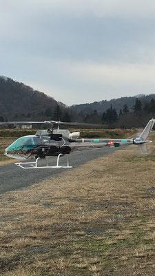 昨年実施したテスト飛行では安定したフライトができました。