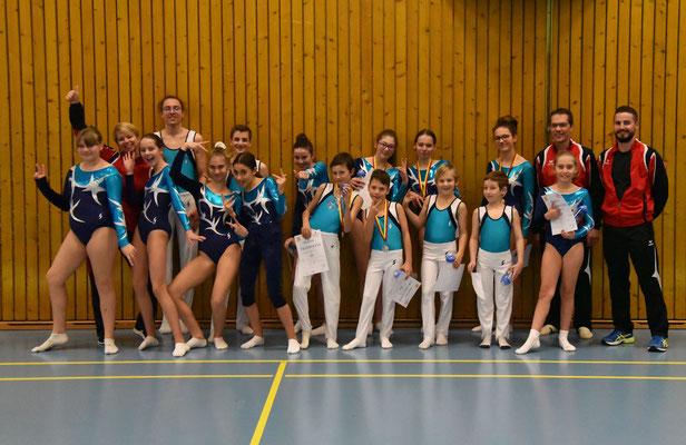 Gymnastes du club en lice à Genève