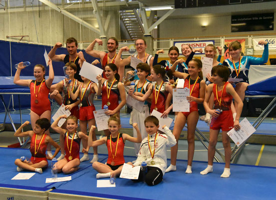 Tous les médaillés romands des catégories National