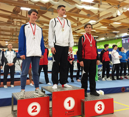 Podium National B Hommes