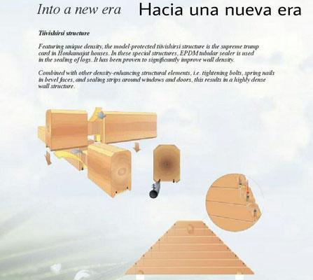 Tecnología en estructura casas de madera
