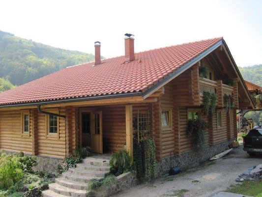 Casas rurales de madera casas de madera honkamajat natur - Casas rurales madera ...