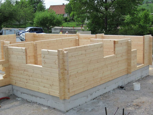 Construcción de casas de madera biopasivas