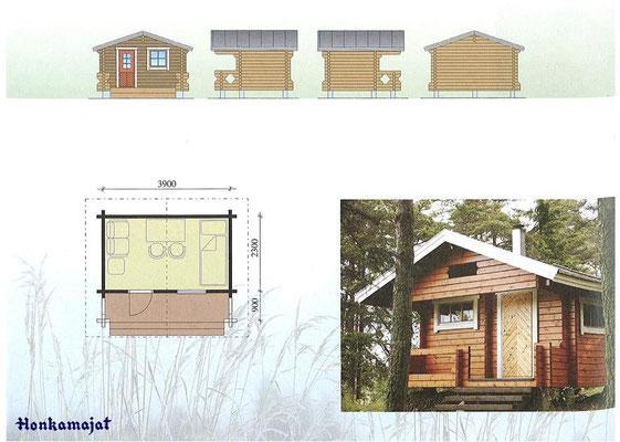 Construcciones de casas saunas
