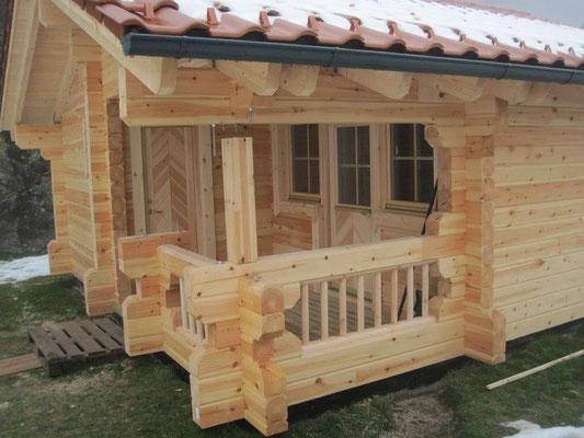 casas de madera sauna a medida