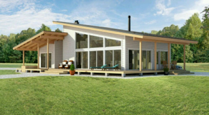 casas de madera passivhaus