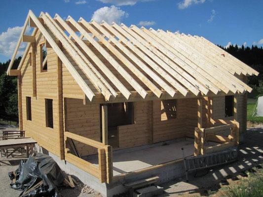Construcción de casas de madera a medida
