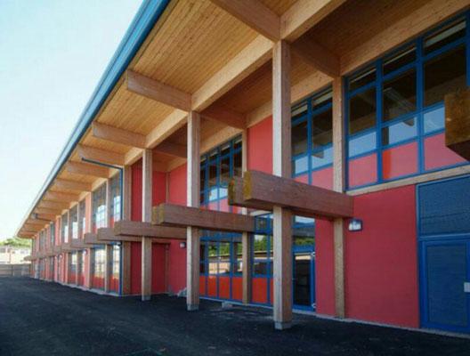 Colegios de madera