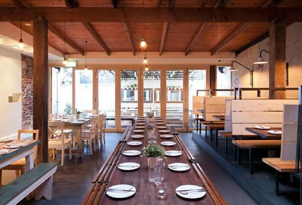 restaurantes de madera