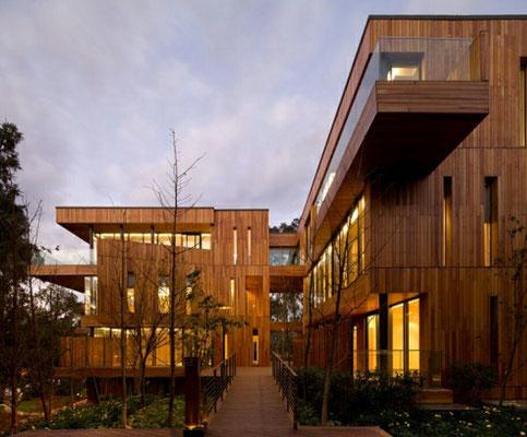 hoteles de madera de lujo