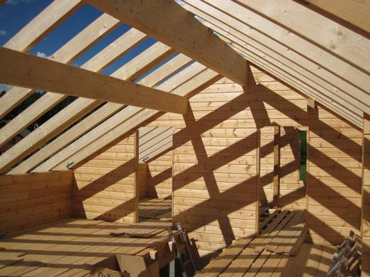 Construcción de casas de madera