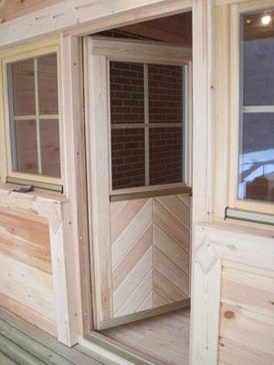casas de madera sauna de lujo