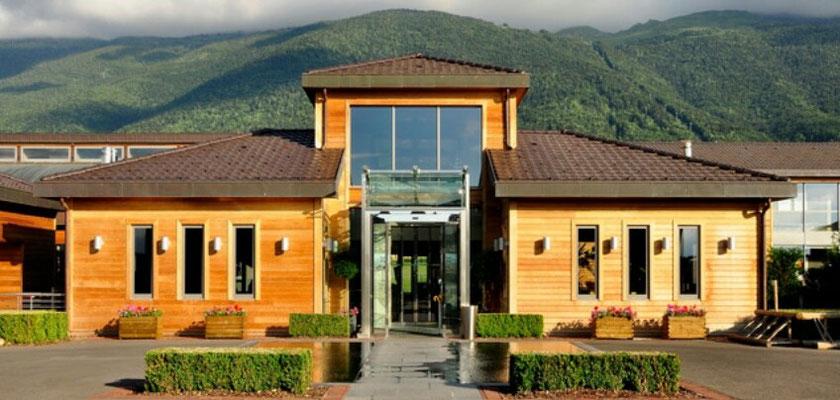 hoteles de madera pasivos