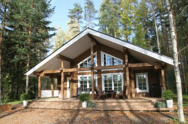 casas rurales de madera eficientes