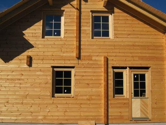 Construcción de chalets de madera