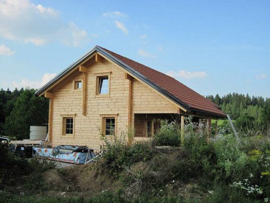 Construcción de viviendas de madera de lujo
