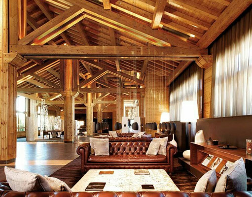 construcciones de hoteles de madera