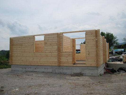 Construcción de casas de madera bioclimáticas